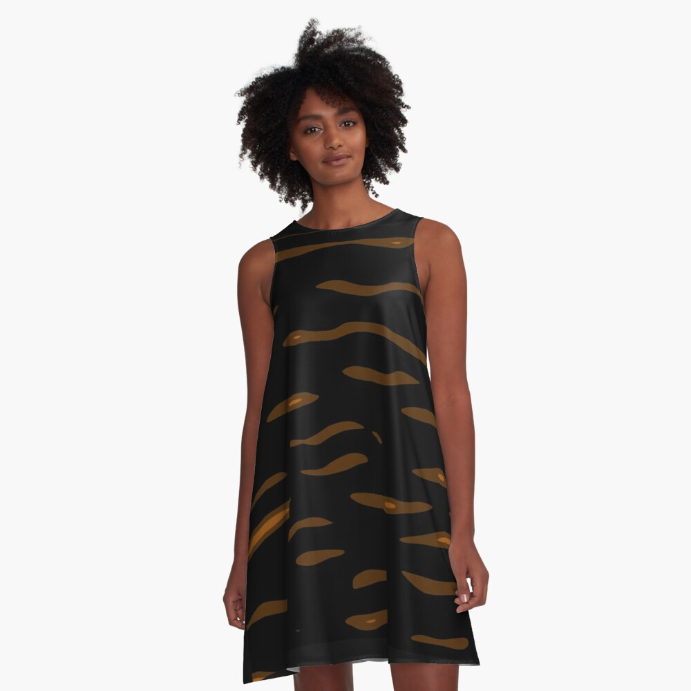 Decorative design by Moma A-Line Dress Front