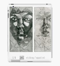 Experiment with faces #1-2 iPad Case/Skin