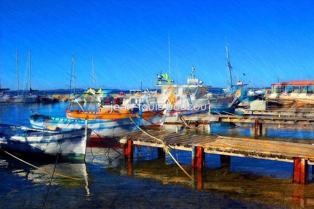 Pothuau Harbor by jean-louis bouzou