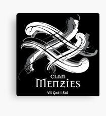 Clan Menzies  Canvas Print