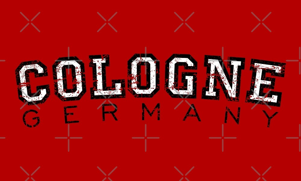 Cologne Germany Vintage (Black / White) by theshirtshops