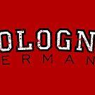 Cologne Germany Vintage (Schwarz/Weiß) von theshirtshops