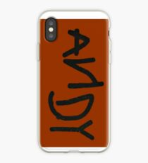 Woody's Andy Shoeprint iPhone Case