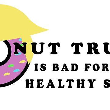 Donut Trump by MotherSky