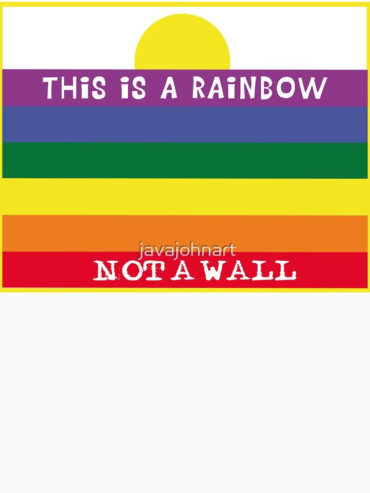 Rainbow wall by javajohnart