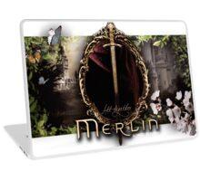Merlin logo Laptop Skin