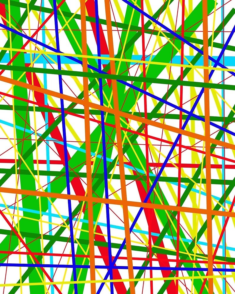 Colorful lines - design by Moma by ValentinaHramov