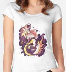 MONSTER HUNTER - Tamamitsune - Women's Fitted Scoop T-Shirt
