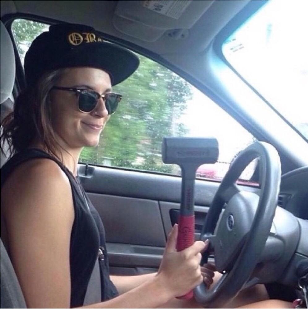 Driver Lynn Gunn by emh19