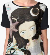 How far are you gonna go? Women's Chiffon Top