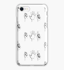 Rock, Paper, Scissors iPhone Case/Skin