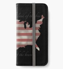 USA iPhone Wallet/Case/Skin