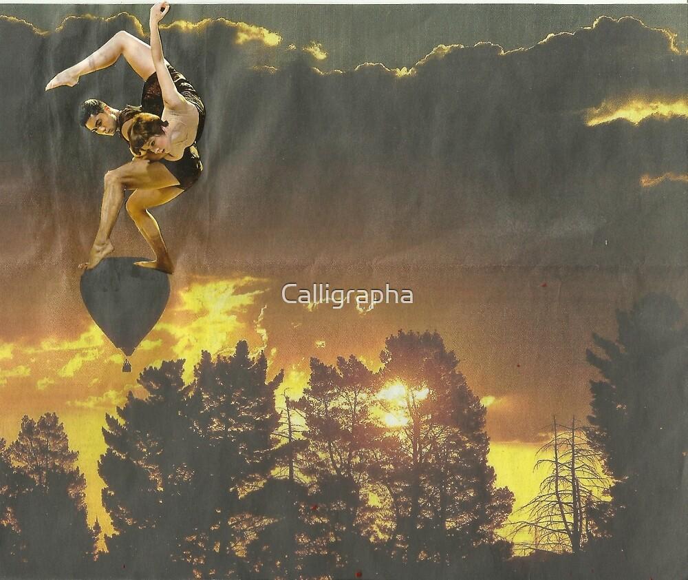 Dancer - Sunset by Calligrapha