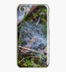 Dewy Ground Web iPhone Case/Skin