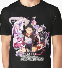 Re:ZERO Starting Life In Another World Graphic T-Shirt