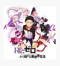 Re:ZERO Starting Life In Another World Photographic Print