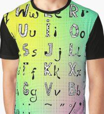 HD Font 3 Graphic T-Shirt