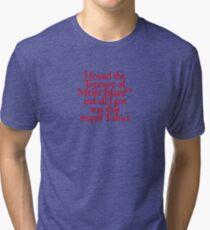 Monkey Island - Lost Treasure of Melee Island Tri-blend T-Shirt