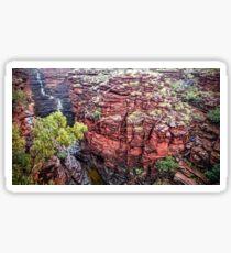 Joffre Gorge - Karijini National Park Sticker