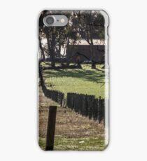 Sunrise Fenceline iPhone Case/Skin