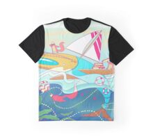 All Aboard! Graphic T-Shirt