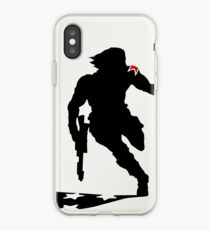 The Winter Solider Silhouette iPhone Case