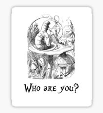 Who are you? Sticker