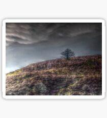 Stormy Hill Sticker