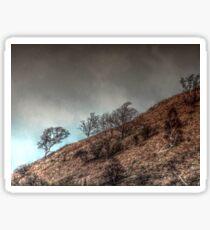 Stormy Hill 2 Sticker