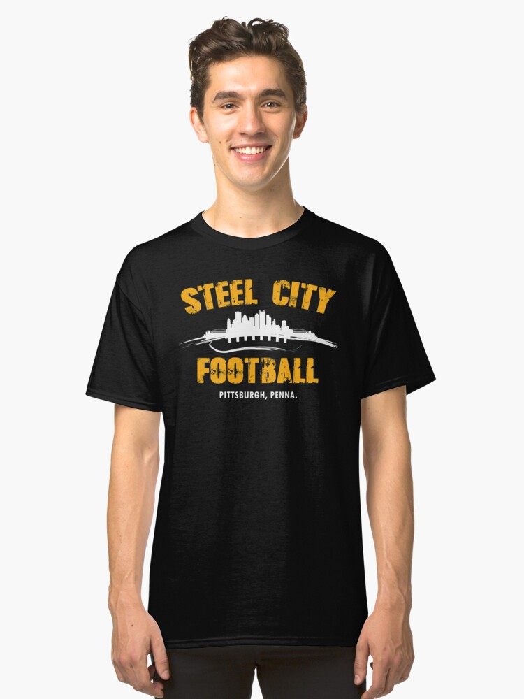 STEEL CITY FOOTBALL Classic T-Shirt Front