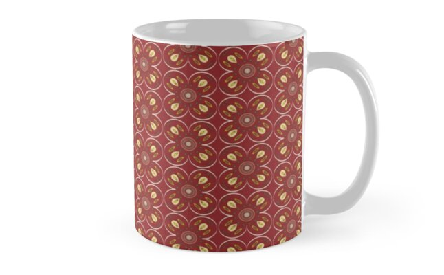 Stratton Red by midcenturystyle