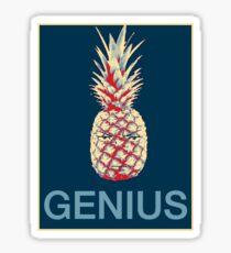 Tête d'ananas Shikamaru Sticker