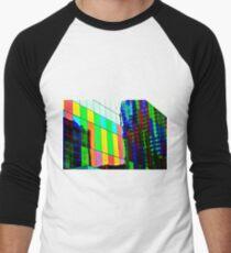 Montreal in Color ! Men's Baseball ¾ T-Shirt