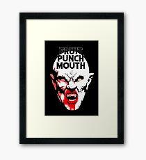 Fruit Punch Mouth Framed Print
