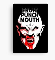 Fruit Punch Mouth Canvas Print