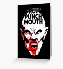 Fruit Punch Mouth Greeting Card