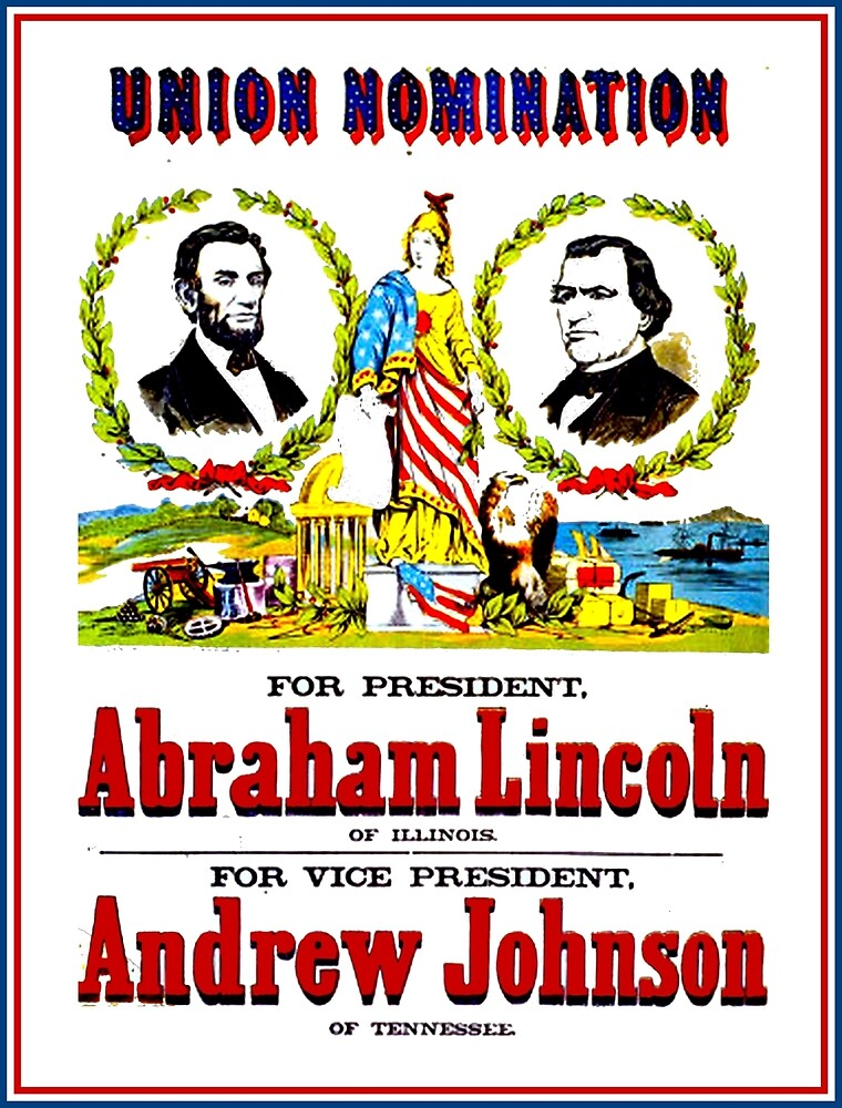"""""""UNION NOMINATION"""" Lincoln for President Print by posterbobs"""
