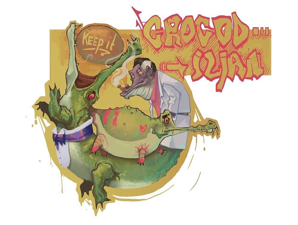 Keep It Crocodilian by Finnbarr Martin