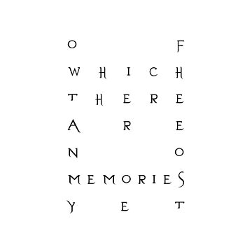 Of Which There Are No Memories Yet by liberations