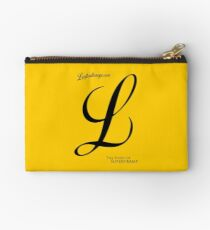 """L"" like Logicaltramp (black) Studio Pouch"