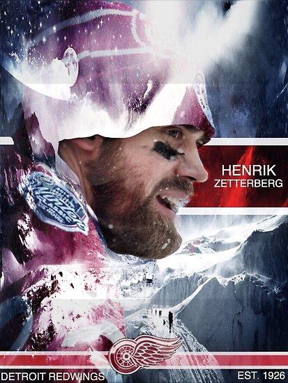 Henrik Zetterberg  by JackAPesta