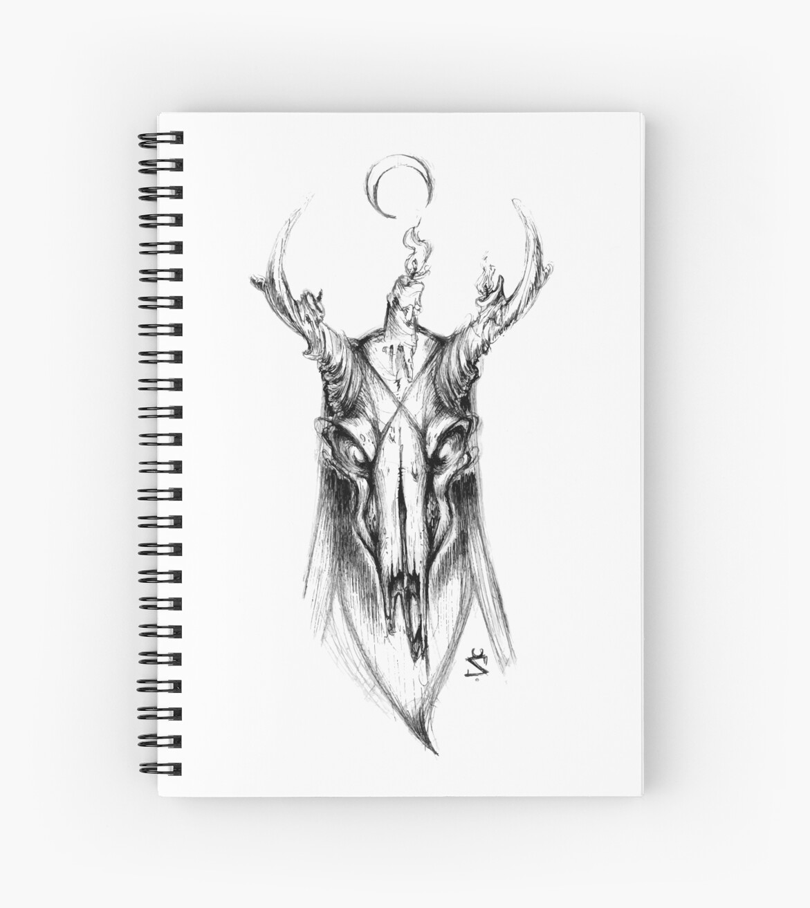 Demon Deer by BlackInkBear