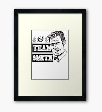 TEAM SMITH Framed Print
