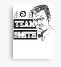 TEAM SMITH Canvas Print