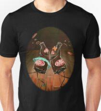 Swing Dancing Dr. Pepper Bottles Unisex T-Shirt
