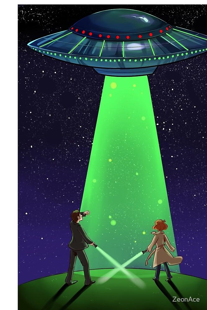 The X-Files / UFO by ZeonAce