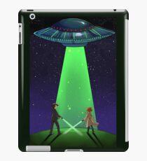 The X-Files / UFO iPad Case/Skin