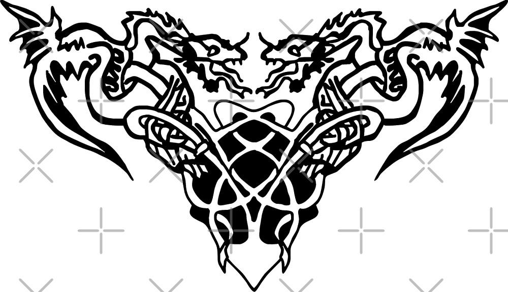 Black dragons by freaks13