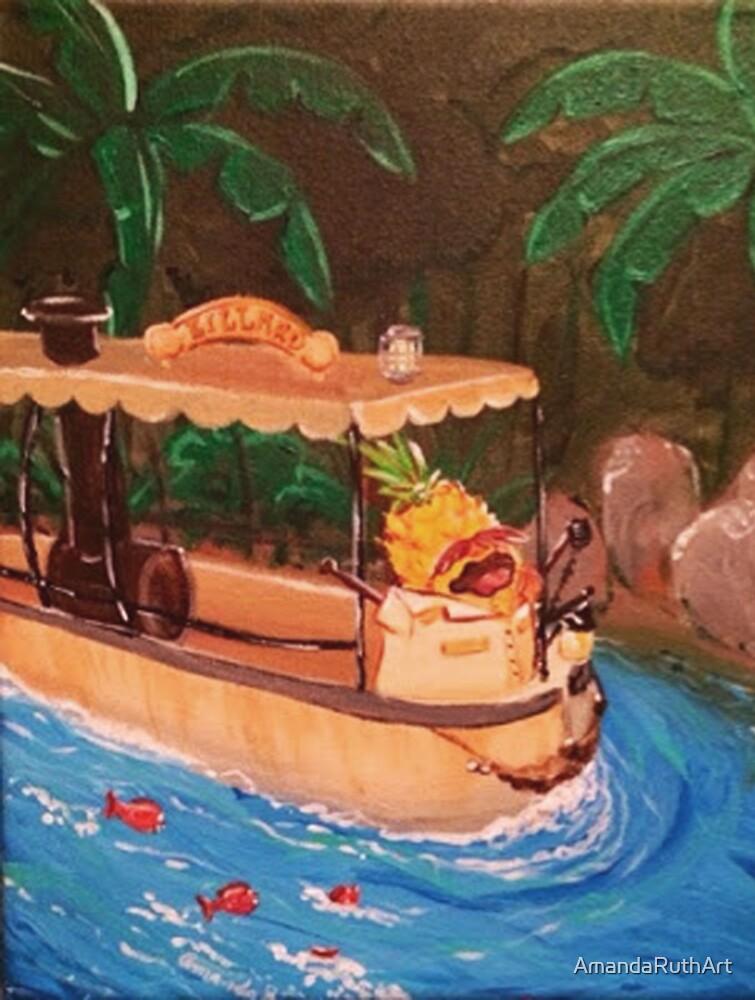 Screaming Pineapple Jungle Cruise Skipper by AmandaRuthArt