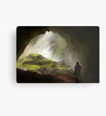 Fantasy Cave Metal Print
